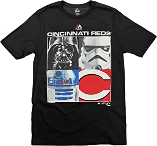 Majestic MLB Boys Youth Star Wars Main Character T-Shirt