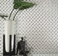 Chrome Diamond Plate Plastic Sheet 24