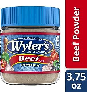 Wyler's Beef Flavor Instant Bouillon Powder, 3.75 oz Jar