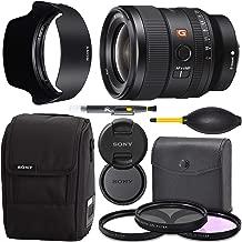 Sony FE 24mm f/1.4 GM: Full Frame Lens (SEL24F14GM) + AOM Pro Starter Bundle Kit - International Version (1 Year AOM Warranty)