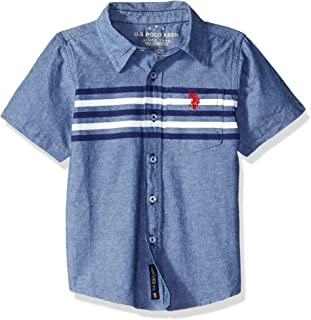 Boys' Short Sleeve Fancy Sport Shirt