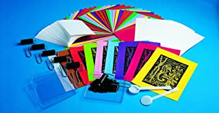 Scratch-Art Classroom Packs Scratch-Foam Printmaking Classroom Pack