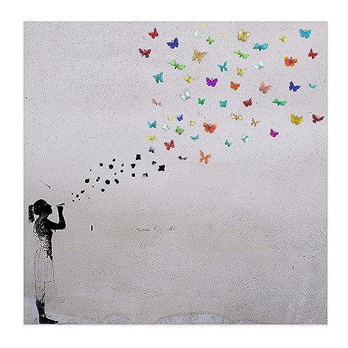 Street Art Leinwand Amazonde