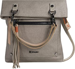 Rebel Crossbody Bag for Women, made from Hand-painted Canvas