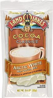 Land O Lakes Cocoa Classic Arctic White Hot Cocoa Mix, 1.25 Ounce - 12 per case.