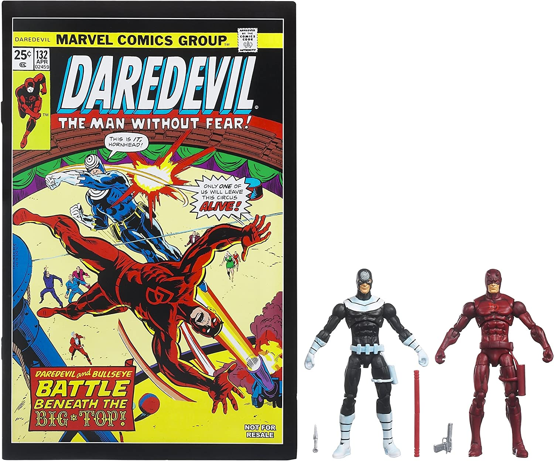 MARVEL UNIVERSE GREATEST BATTLES DAREDEVIL & BULLSEYE 9.5cm ACTIONFIGUR
