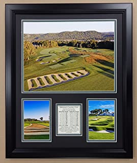 Legends Never Die PGA Oakmont Country Club Golf Double Matted Photo Frame, 18