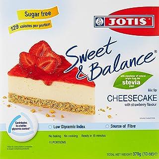 Jotis Sweet & Balance Cheesecake Strawberry, 370 gm