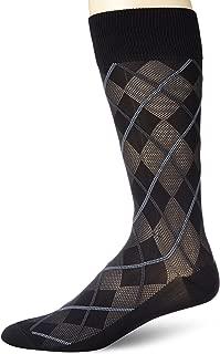 Men's All Over All Over Argyle Microfiber Luxury Dress Sock