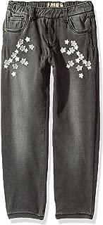 Guess 女童 5 口袋牛仔星星裤