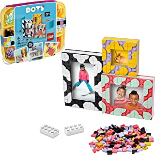 LEGO DOTS Creative Picture Frames 41914 DIY Bedroom Accessories Decorations 3in1 Set, Arts and Crafts Toy for Kids 6+ year...