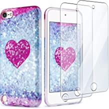 iPod Touch 7 Case with 2 Screen Protectors, IDWELL iPod Touch 6 Case for Girls, iPod..