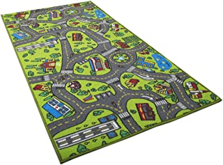 Kids Carpet Playmat Rug City Life Great for Playing with Cars and Toys - Play, Learn and Have Fun Safely - Kids Baby, Chil...