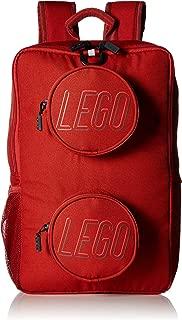 LEGO Brick Backpack-Crimson, One Size