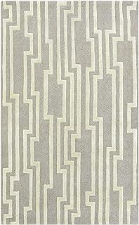 Surya Candice Olson Modern Classics CAN-2023 Hand Tufted 100-Percent New Zealand Wool Geometric Area Rug, 9-Feet by 13-Feet