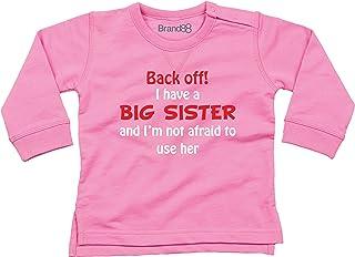 sorelle rosa set t-shirt Kidsi I m the big sister I m the middle Sister I m the Little Sistertshirts tops per bambini Sister Siblings