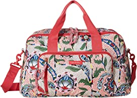9be67607883c Vera Bradley Iconic Compact Weekender Travel Bag | Zappos.com