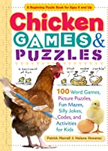 Chicken Games & Puzzles: 100 Word Games, Picture Puzzles, Fun Mazes, Silly Jokes, Codes, and Activities for Kids (Storey's Games & Puzzles)