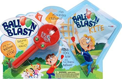 Balloon Blast with Kite, rot Grün