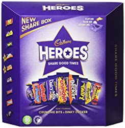 cadbury Heroes Chocolate Carton 385g