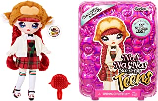 Na Na Na Surprise Teens Fashion Pop, COCO VAN SPARKLE. Verzamelbare, grote, zachte pop met luxe outfit en accessoires. Tee...