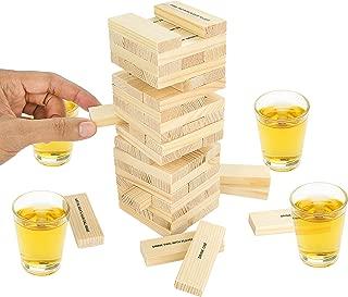 Fairly Odd Novelties Dunken Blocks Shot Glass Drinking Game, A Tower Of Fun!.