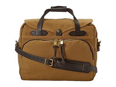 Filson Padded Laptop Bag/Briefcase (Tan) Briefcase Bags