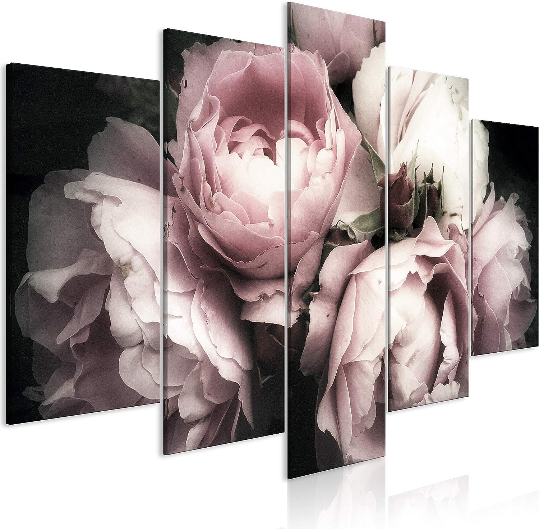 artgeist Handart Canvas Wall Art 200x100 Max 53% OFF cm Rose OFFicial site Roses Flowers
