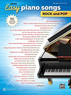 Alfred's Easy Piano Songs -- Rock & Pop: 50