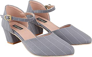 Do Bhai Women Material Synthtic Stylish Pointed Toe Fashion Heel Sandal(Heena)