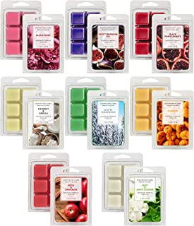 LASENTEUR Scented Wax Melts Wax Cubes, Winter Cedarwood Natural Soy Wax Cubes Highly Fragrant Home Fragrance for Candle Wa...