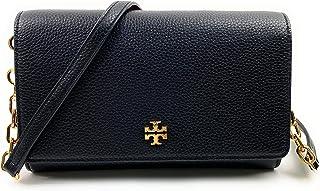 Tory Burch Carter Chain Wallet Crossbody Bag (Black)