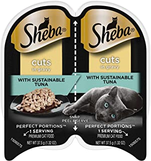 Sheba Perfect Portions Cuts in Gravy Wet Cat Food Trays
