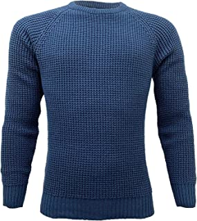 Crosshatch Men's Jumper MINEHEAD Navy Large
