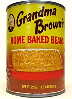 Grandma Brown's Home Baked Beans (Pack of 2) 22 oz Cans