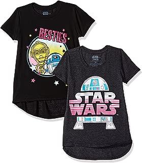 Big Girls Short Sleeve 2 Pack T-Shirt