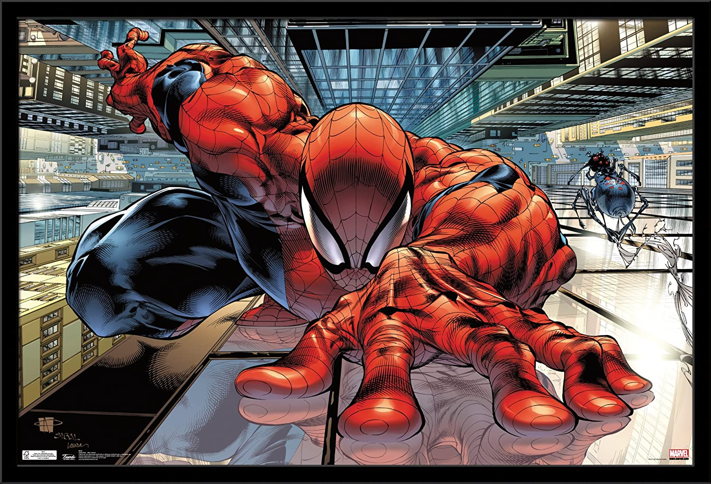 Trends International Poster Spider-Man Wall Crawler, 24 x 36