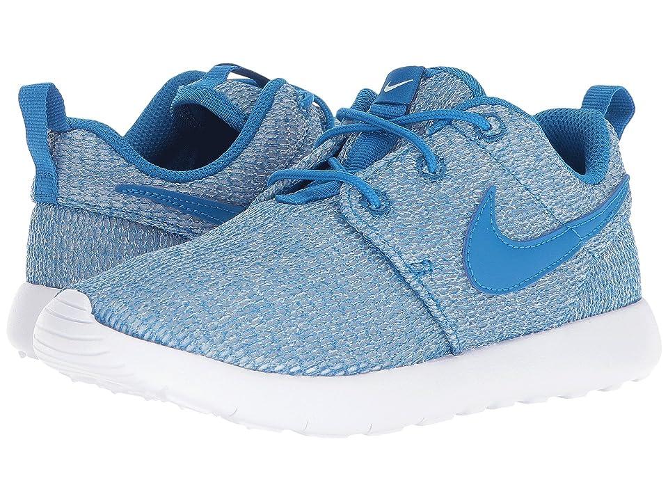 Nike Kids Roshe One (Little Kid) (Blue Nebula/Blue Nebula/White) Boys Shoes