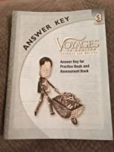Grade Level 5 Answer Key: Answer Key for Practice Book and Assessment Book (Voyages in English 2011)