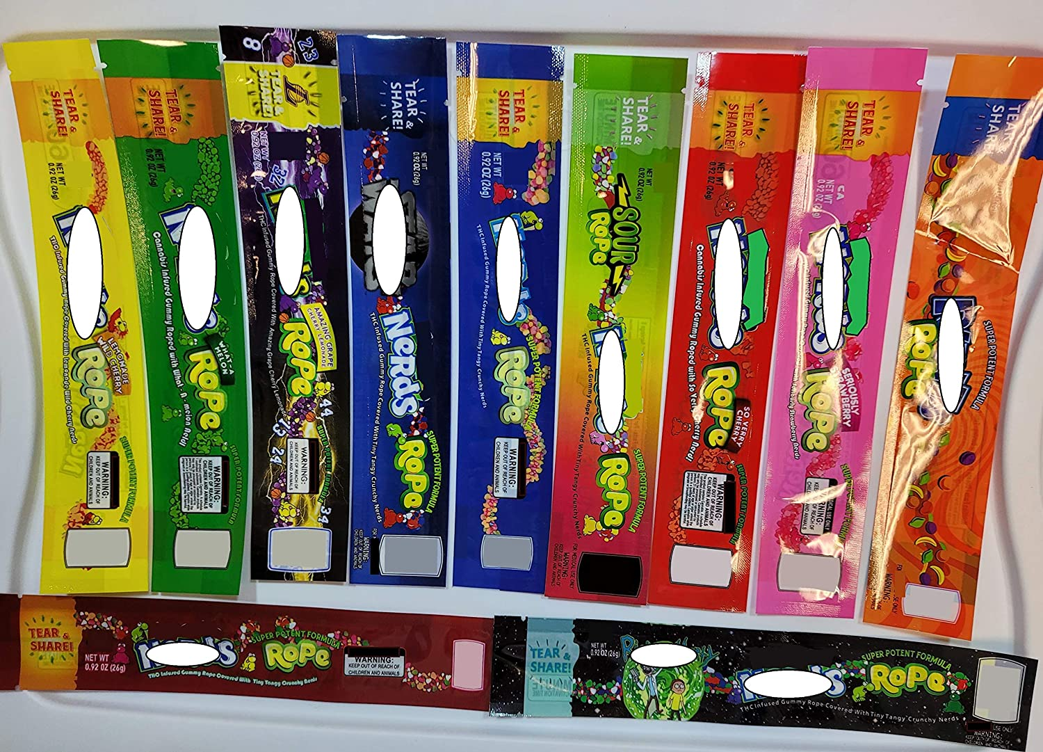 """11 New Designs Nerds Spasm price Rope """"Packaging"""" for - DIY Empty Bags gift 200"""