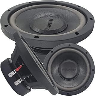 $36 » Car Vehicle Subwoofer Audio Speaker - 8 Inch Competition Grade Pressed Paper Cone, 4 Ohm Impedance, Advanced Air Flow, 600...