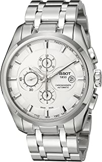 Tissot Men's T0356271103100 Couturier Analog Display Swiss Automatic Silver Watch