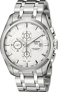 Men's T0356271103100 Couturier Analog Display Swiss Automatic Silver Watch
