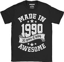 6TN Hombre Hecho en 1990 30 años de ser Impresionante Camiseta