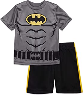 Batman and Superman Boys' Athletic Performance T-Shirt &...
