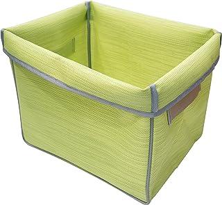 سلة تخزين قابلة للطي JAS31115-G001، 33.3 بوصة × 10.2 بوصة × 12.5 بوصة، أخضر باهت