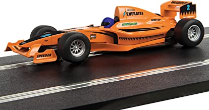 Scalextric Start F1 Style Racing Car Team Full Throttle 1:32 Slot Race Car C4114