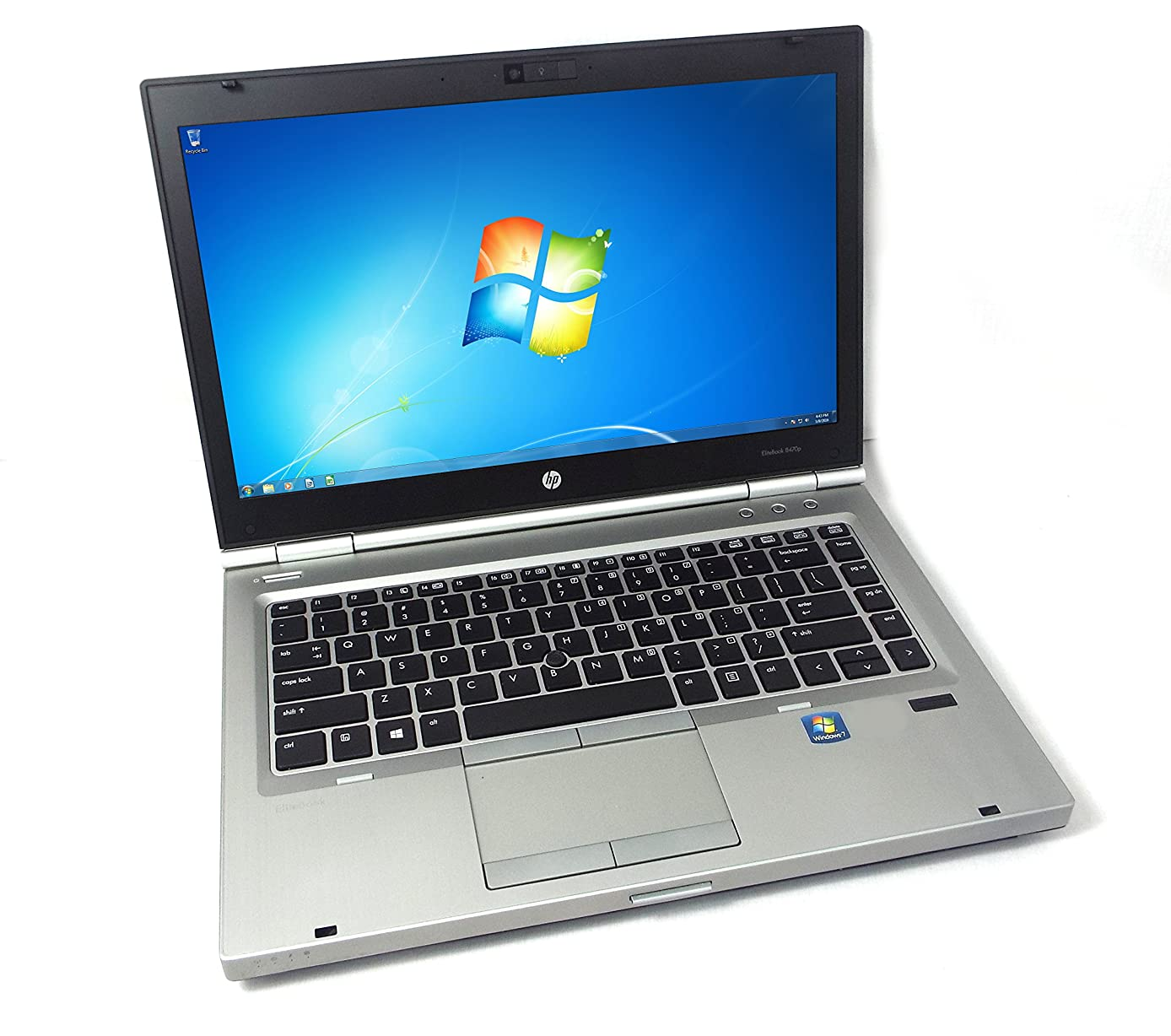 "HP EliteBook 8470p 14"" Laptop PC, Intel Core i5-3320M 2.6GHz, 4GB DDR3 RAM, 500GB HDD, Win-7 Pro"