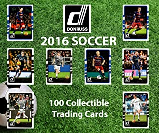 2016 Panini Donruss Soccer Collectible Trading Cards Pack (100 Cards Pack) - Randomly Inserted All Pro Mint Cards - Soccer...