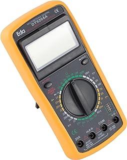 Multímetro Digital com Capacímetro, EDA, 9KF, Preto